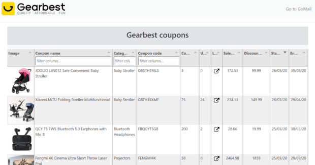gearbest live coupons