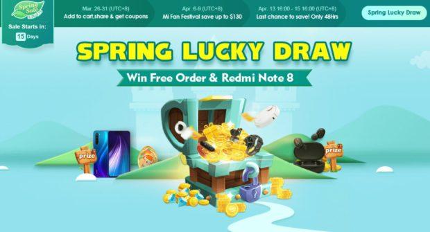 Banggood Spring Lucky Draw Win Super Coupons